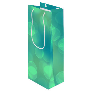 soft lights bokeh 1b wine gift bag
