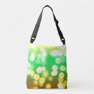 soft lights bokeh 3 crossbody bag
