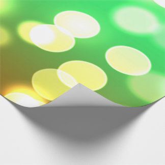soft lights bokeh 3 wrapping paper