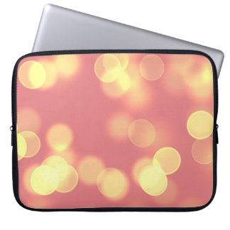 soft lights bokeh 4b laptop sleeve