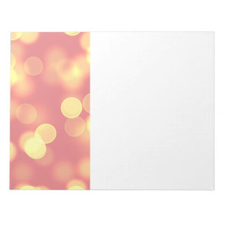 soft lights bokeh 4b notepad