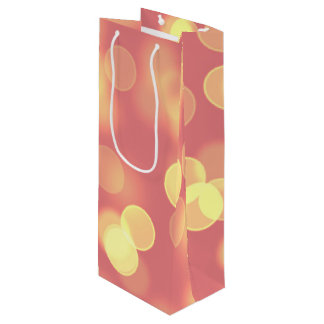 soft lights bokeh 4b wine gift bag