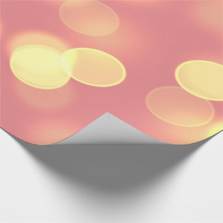 soft lights bokeh 4b wrapping paper