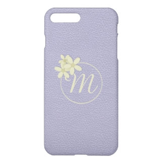 Soft Lilac Faux Leather Effect iPhone 7 Plus Case