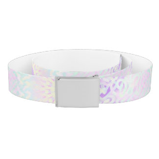 Soft Love Pastel Mandala Belt