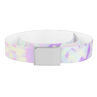 Soft Love Pastel Mandala (Big) Belt