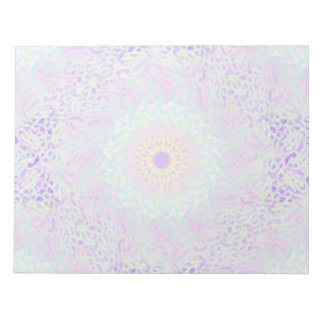 Soft Love Pastel Mandala (Big) Notepad