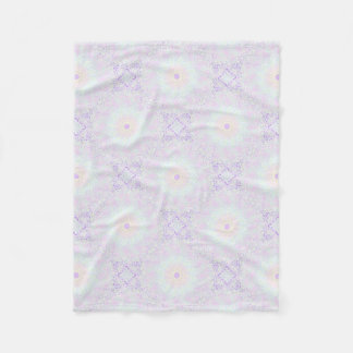 Soft Love Pastel Mandala Fleece Blanket