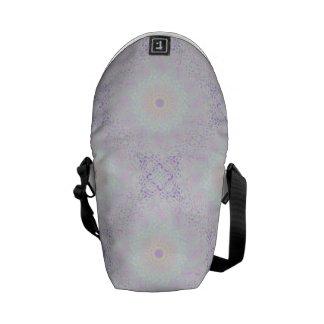 Soft Love Pastel Mandala Messenger Bag