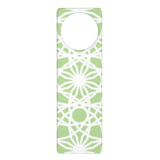 """SOFT MINT"" DOOR HANGER"