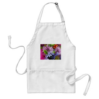 Soft mix flowers standard apron