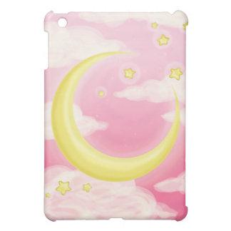 Soft Moon on Pink iPad Mini Cases