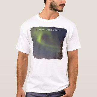 Soft Northern Lights; Customizable T-Shirt