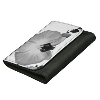 Soft Orchids Leather Wallet