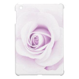 Soft pale purple rose elegant floral iPad mini cases
