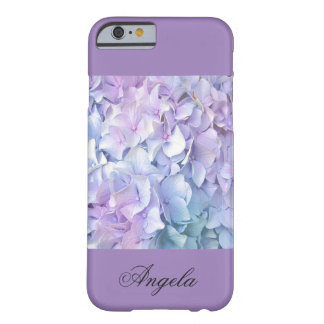 Soft Pastel Hydrangea/Lavender iPhone 6 Cases