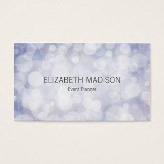 Soft Pastel Lavender Lights Business Card
