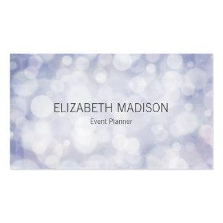 Soft Pastel Lavender Lights Pack Of Standard Business Cards