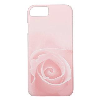 soft pastel pink rose iPhone 7 case