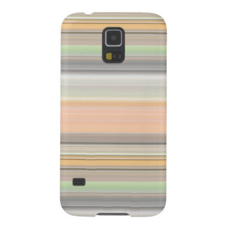 Soft Pastel Stripe Pattern Case For Galaxy S5