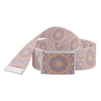 Soft Pastels Kaleidoscope Custom Belts Belt