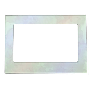 Soft Pastels Magnetic Picture Frame