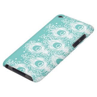 Soft peacock feathers iPod touch Case-Mate case