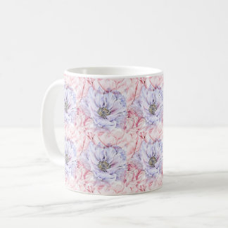 SOFT PINK AND PURPLE MUG