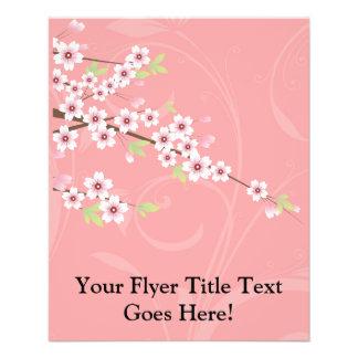 Soft Pink Cherry Blossom 11.5 Cm X 14 Cm Flyer