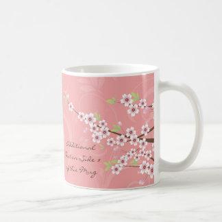 Soft Pink Cherry Blossom Coffee Mugs