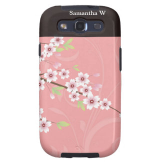 Soft Pink Cherry Blossom Galaxy SIII Cover