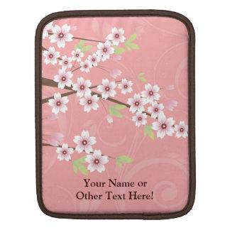 Soft Pink Cherry Blossom iPad Sleeve