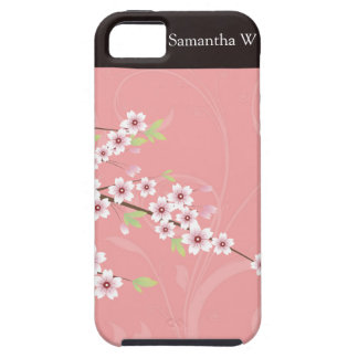Soft Pink Cherry Blossom iPhone 5 Cover