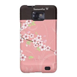 Soft Pink Cherry Blossom Samsung Galaxy S2 Case