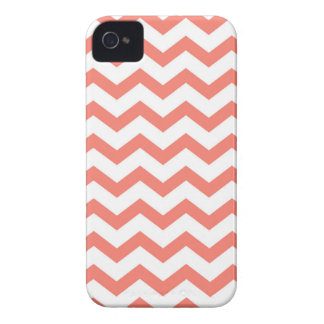 soft pink chevron strips iPhone 4 cases