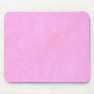 Soft Pink Fairytale Clouds Mouse Pad