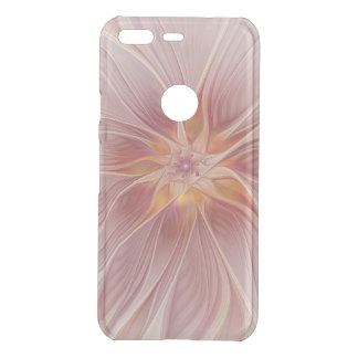 Soft Pink Floral Dream Abstract Modern Flower Uncommon Google Pixel Case