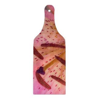Soft Pink Lily Cutting Board