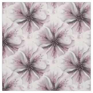 Soft Pink Petals Fabric