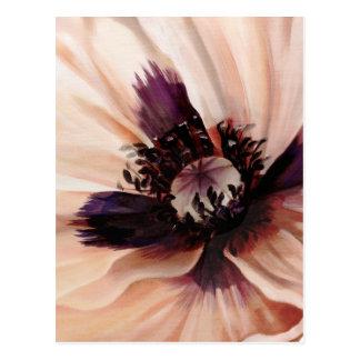 Soft Pink Poppy Postcard