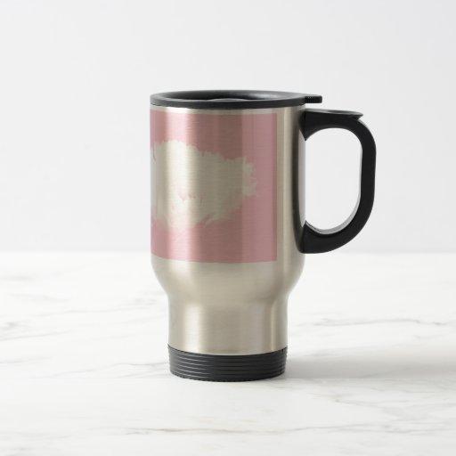 Soft Pink White Peony - Floral Coffee Mug