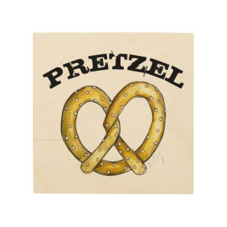 Soft Pretzel NYC New York Snack Food Foodie Decor