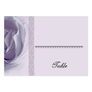 Soft PURPLE Rose Place Card - Wedding Party Business Card Template