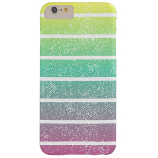 Soft Rainbow Stripes Barely There iPhone 6 Plus Case