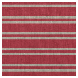 Soft red and white lines design fabric