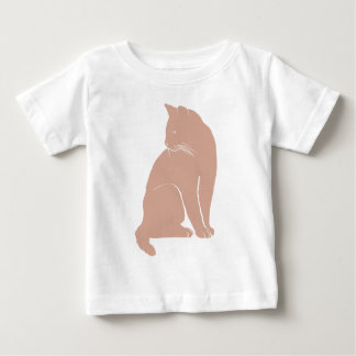 Soft red cat baby T-Shirt