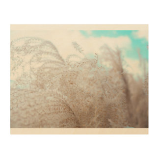 Soft, romantic, and girlie wood print