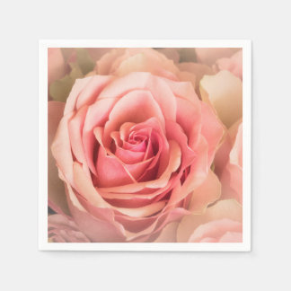 Soft Rose Blush Disposable Napkin