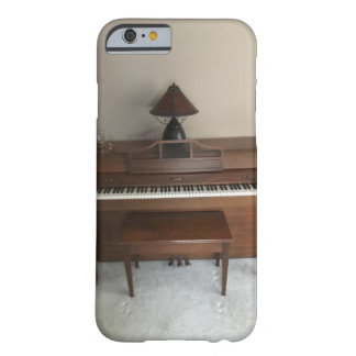 Soft Rustic Baldwin Piano Desgin Barely There iPhone 6 Case
