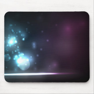 Soft Shining Particles Mouse Pad
